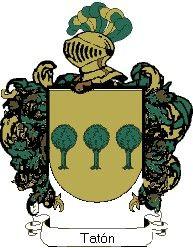 Escudo del apellido Patón