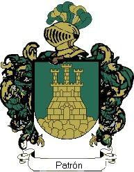 Escudo del apellido Patrón