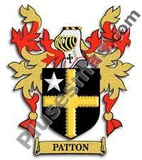 Escudo del apellido Patton
