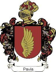 Escudo del apellido Pavía