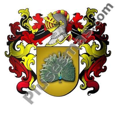 Escudo del apellido Pavón