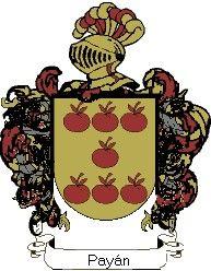 Escudo del apellido Payán