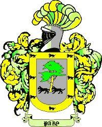 Escudo del apellido Pazo