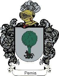 Escudo del apellido Pernia