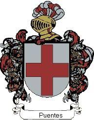 Escudo del apellido Puentes