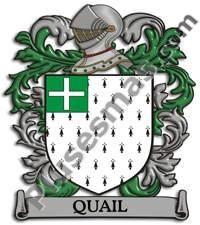 Escudo del apellido Quail