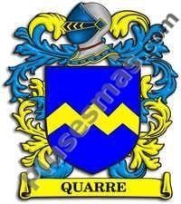 Escudo del apellido Quarre