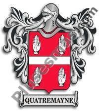 Escudo del apellido Quatremayne