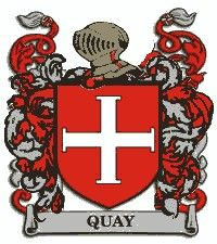 Escudo del apellido Quay
