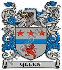 Escudo del apellido Queen