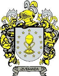 Escudo del apellido Quemada