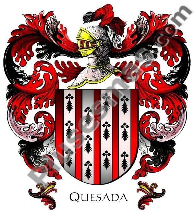 Escudo del apellido Quesada