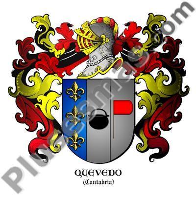 Escudo del apellido Quevedo