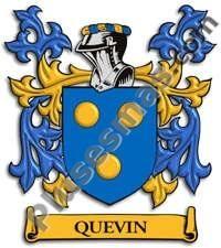Escudo del apellido Quevin