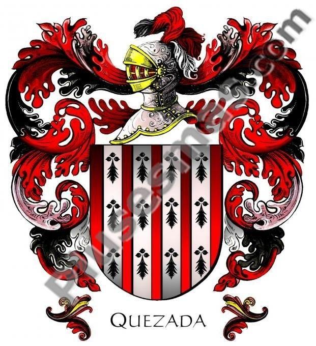 Escudo del apellido Quezada