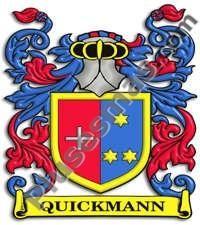 Escudo del apellido Quickmann
