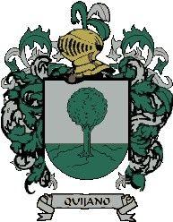 Escudo del apellido Quijano
