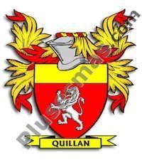 Escudo del apellido Quillan