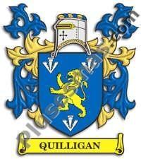 Escudo del apellido Quilligan