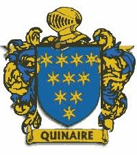 Escudo del apellido Quinaire