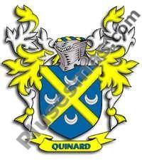 Escudo del apellido Quinard