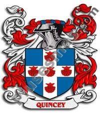 Escudo del apellido Quincey