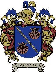 Escudo del apellido Quindos