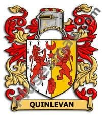 Escudo del apellido Quinlevan