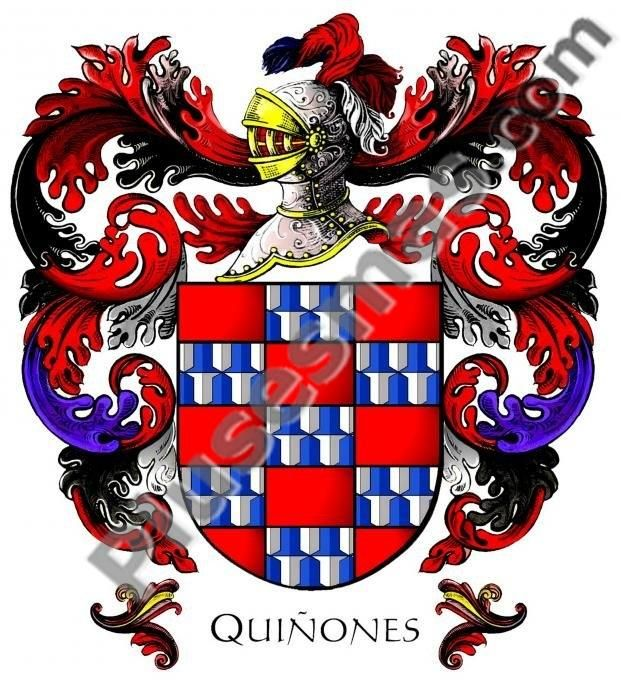 Escudo del apellido Quiñones