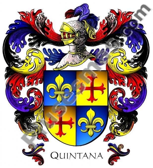 Escudo del apellido Quintana