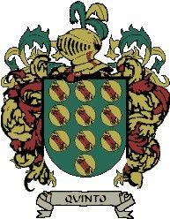 Escudo del apellido Quinto
