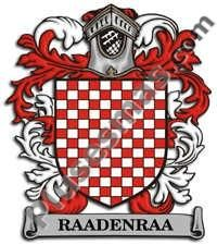 Escudo del apellido Raadenraa