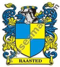 Escudo del apellido Raasted