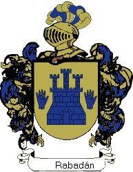 Escudo del apellido Rabadán