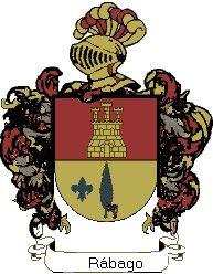 Escudo del apellido Rábago