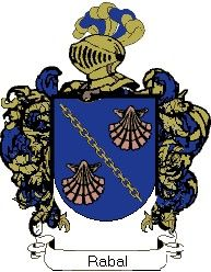 Escudo del apellido Rabal