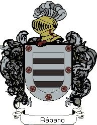 Escudo del apellido Rábano