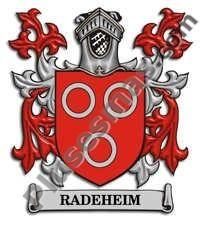 Escudo del apellido Radeheim