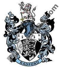 Escudo del apellido Radford