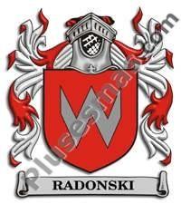Escudo del apellido Radonski