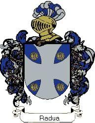 Escudo del apellido Radua