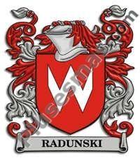 Escudo del apellido Radunski