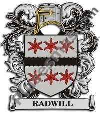 Escudo del apellido Radwill