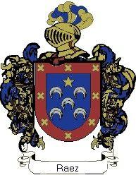Escudo del apellido Raez