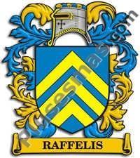 Escudo del apellido Raffelis