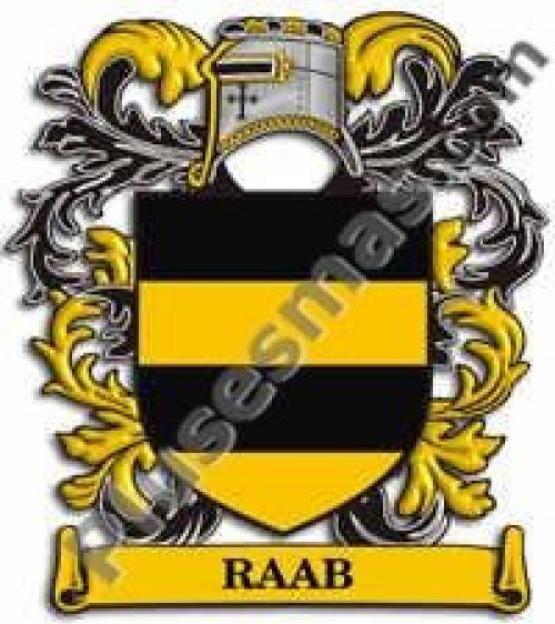 Escudo del apellido Raab