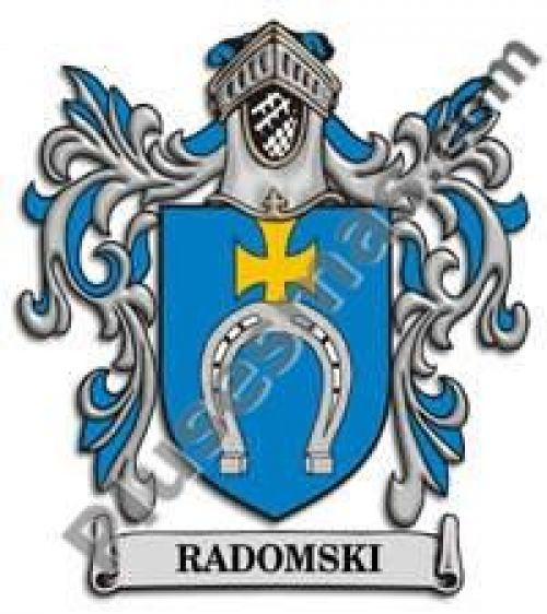 Escudo del apellido Radomski