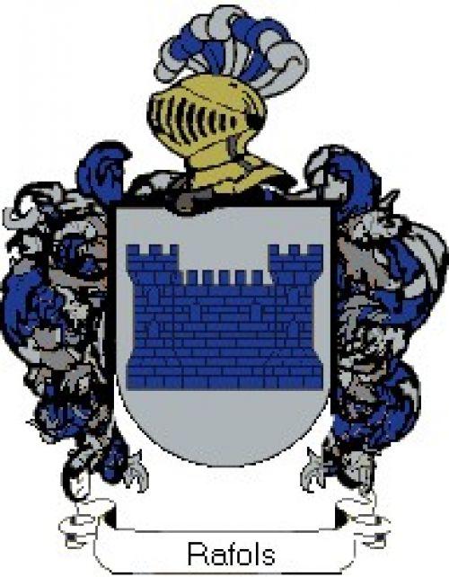 Escudo del apellido Rafols