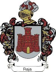Escudo del apellido Raja