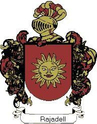 Escudo del apellido Rajadell